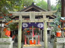 Chojasha Shinseki (site of former shrine, where a deity remains)