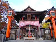 Nakasha Shinseki (site of former shrine, where a deity remains)