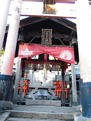Tanakasha Shinseki (site of former shrine, where a deity remains)