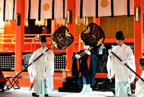 写真:稲荷祭(神幸祭)