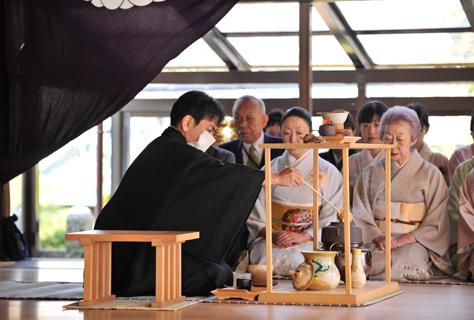 写真:献茶祭